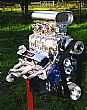 Blown small block street engine