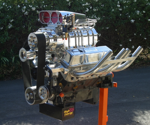 How much horsepower can you get out of one of your engines?