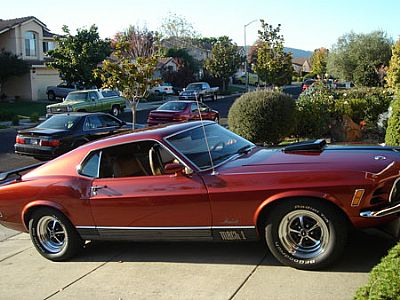 70 Mach 1 with Nitrous