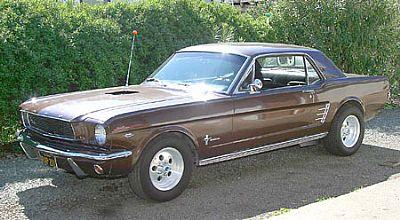 Seth's 66 Mustang
