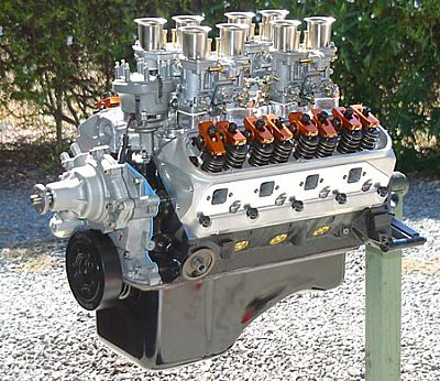 347 stroker with weber carbs
