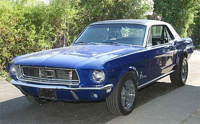 Jerry's 68 Mustang