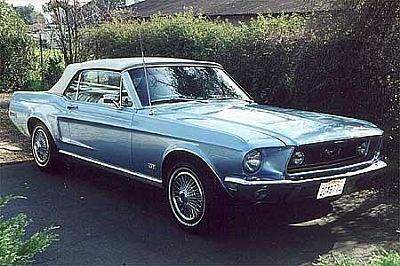 Walter's 68 Mustang