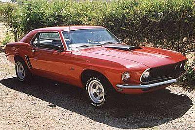 Doug's 69 Mustang