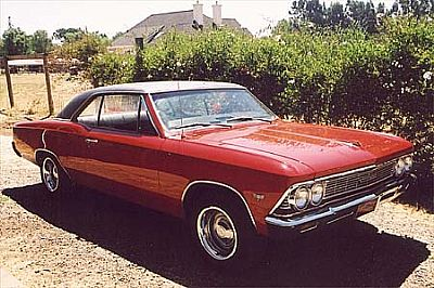 Jake's 66 Chevelle