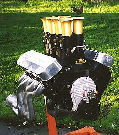 Big block Chevy with mechanical injection