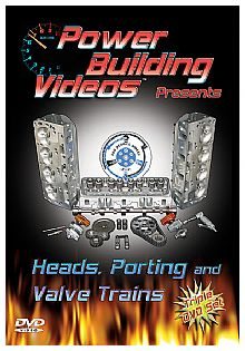 Heads, Porting and Valve Trains
