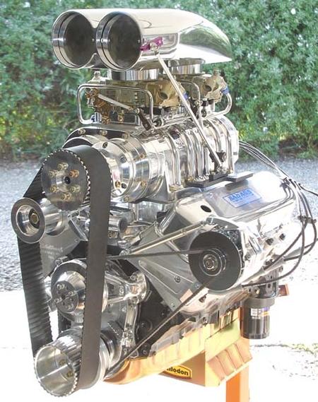 Carl's 468 Camaro
