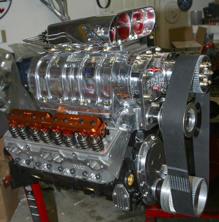 412 blown small block