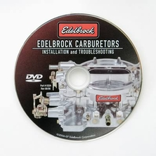 Edelbrock carburetor installation video