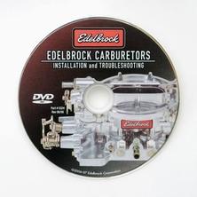 Edelbrock carburetor DVD