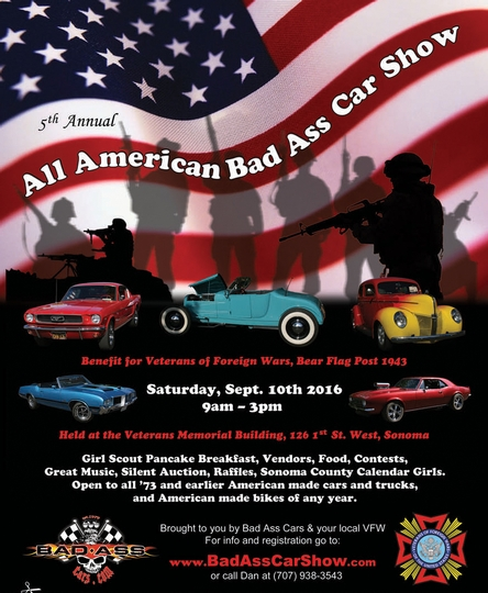 All American Bad Ass Car Show