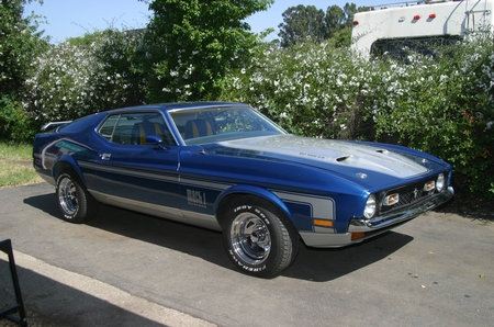 BOSS 351 Mustang