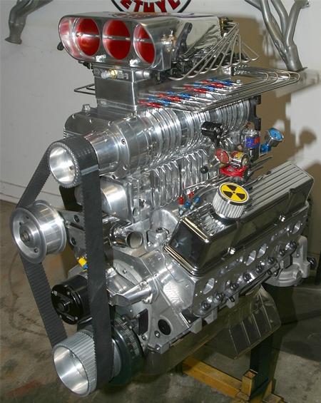 All Aluminum 383 Chevy stroker