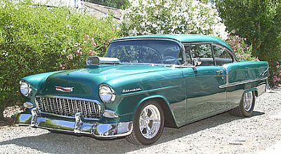 Ray's 55 Chevy Re-Done!