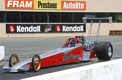 Melissa's Dragster