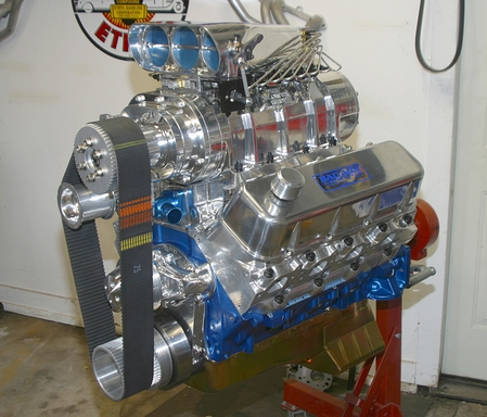 Blown 540 Chevy
