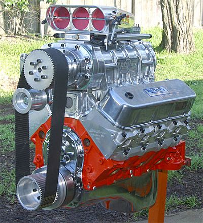 Blown big block with EFI