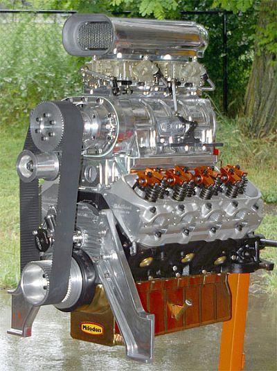 468 Blown marine engine