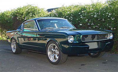 Cam's Mustang