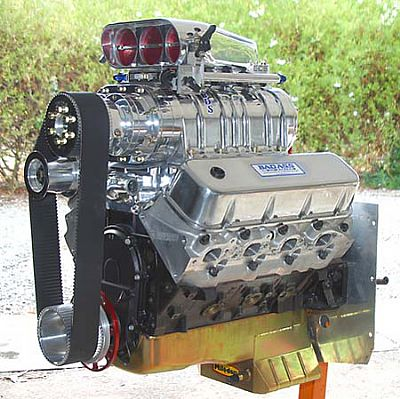 Blown big block Chevy with EFI