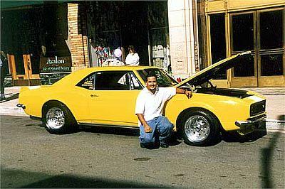 Dave Vasquez's 67 Camaro