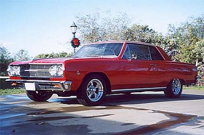 Ray Johnson's 65 Chevelle