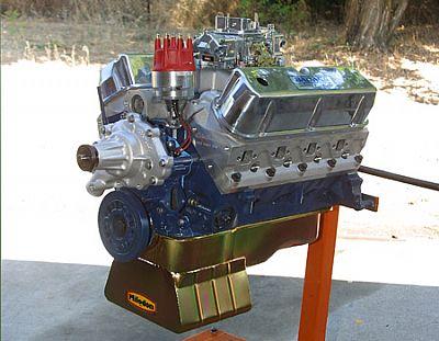 351W Street Beast engine