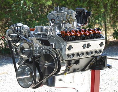 350 Chevy street engine