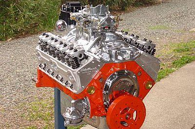 383 Street Beast engine