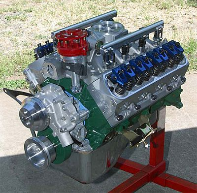 408 Ford stroker with Mas-Flo EFI