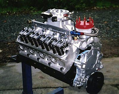 Small block Ford with Edelbrock EFI