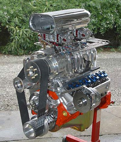 350 Street Engine with 8-71 blower