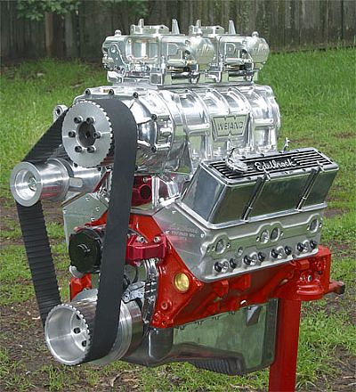 supercharged small block