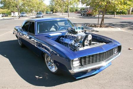 Bad Boy Blue 69 Camaro