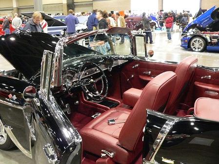 55 chevy show car