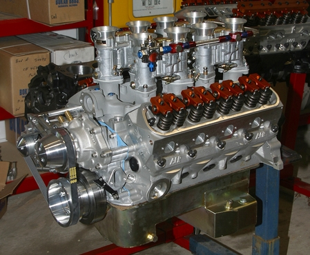 ford engine with webers