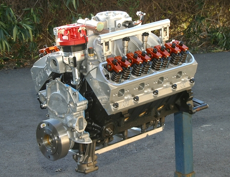 v8 powered lotus