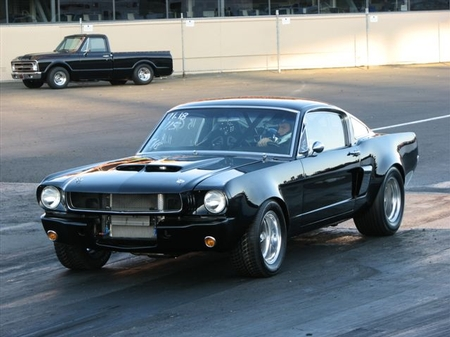 mustang race track